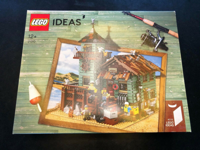 Lego Ideas, UÅBNET, Old Fishing Store 21310, Hejsa! Jeg…
