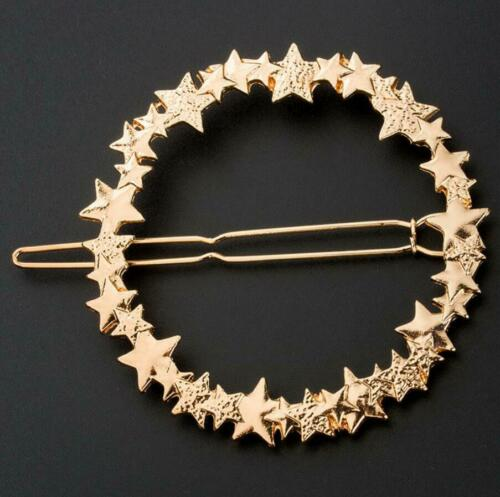 Women/'s Girls Hair Clip Clamps Hairpin Barrette Slide Grips Star Wedding Jewelry