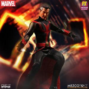 Mezco One: 12 collectifs Marvel Px Defenders Doctor Strange En Stock USA 696198767070