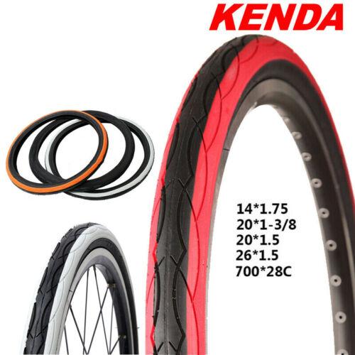 "KENDA K1029 Tire MTB//Road//BMX Bike Tire Rubber 35-80PSI 14/""//20/""//26/""//700C 1PC"