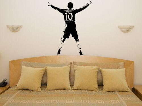 Eden Hazard Footballer Soccer Player Bedroom Decal Wall Sticker Picture Poster