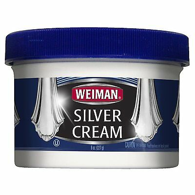 Weiman Silver Cream Cleaner & Polish - 8oz