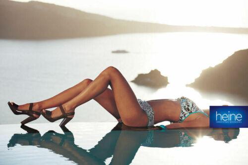 COPPA C Nuovo!! Heine Turchese-Leo Kp 89,90 € SALE/%/% Svolta-staffa-Bikini