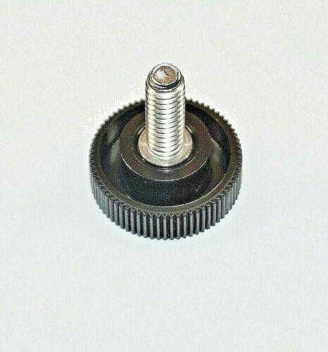 "10 Thumb Screws Stainless Steel 1//4/""-20 x 3//4/"" in Length-1/"" Plastic Black Knob"
