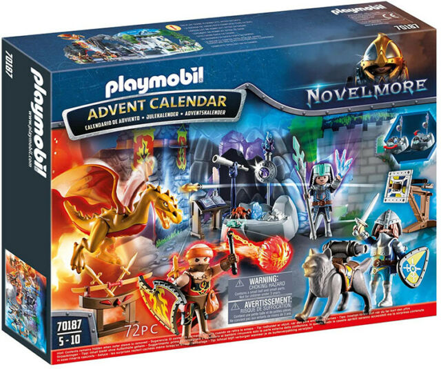 """Playmobil Advent Calendar """"Battle of the Magic Stone"""" 70187 (for Kids 5 to 10)"""