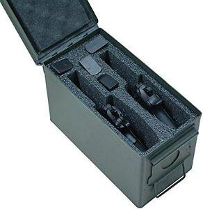 Case-Club-2-Pistol-50-Cal-Ammo-Can-Foam-Pre-cut-Closed-Cell-Military-Grade-Foam