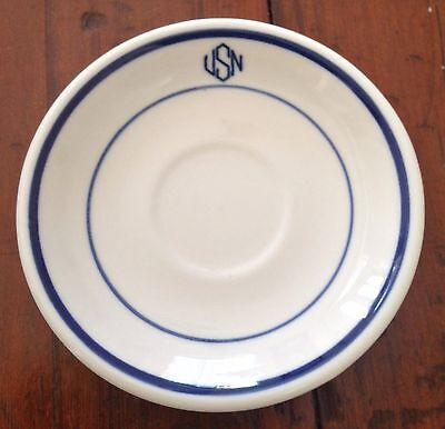 Vintage US NAVY Mess Demitasse Espresso Saucer with USN Shenango China USA & Vintage China u0026 Dishes 2 collection on eBay!