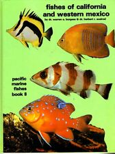 Pacific Marine Fishes California & Western Mexico (Axelrod & Burgess) Fish book
