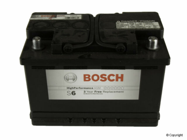 Battery Bosch Agm Vehicle Rear Wd Express 825 54006 459