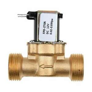 3-4-034-inch-DC-12V-Electric-Solenoid-Valve-Air-Water-Brass-N-C-Normally-Closed