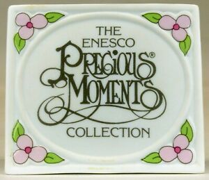 The-Enesco-Precious-Moments-Collection-Display-Plaque-1990-USED
