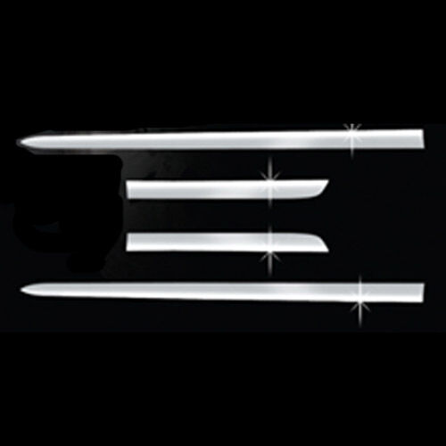Chrome Door Side Skirt Accent Line Sill Molding 4p For 2011 2015 Kia Sportage