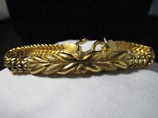 PURE .999 Solid *24K* Gold Bracelet- HEAVY 19.3g- SALE- SAVE 4000. #681
