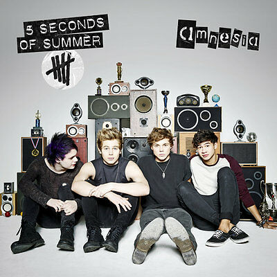 5 Seconds Of Summer - Amnesia & Bonus Stickers! (5SOS) (NEW CD SINGLE)