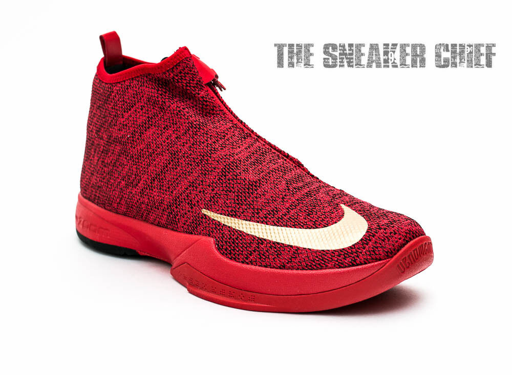 lovely NIKE ZOOM KOBE ICON MENS BASKETBALL SHOES UNIVERSITY RED GOLD 818583  600