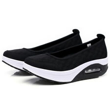 0a26c1022fc item 5 Womens Sport Shoes Ladies Slip On Mesh Wedge Heel Trainers Sneakers  Casual Pumps -Womens Sport Shoes Ladies Slip On Mesh Wedge Heel Trainers  Sneakers ...