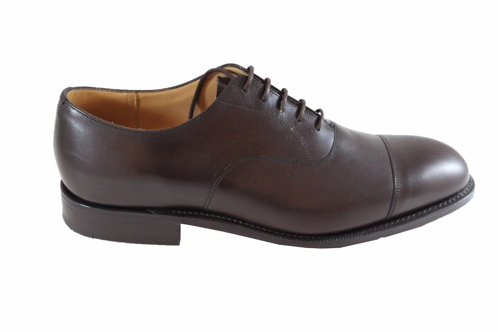 CHURCH'S Consul 173 Ebony Nevada vitello calf brogue stringata pelle vitello Nevada 6d4389