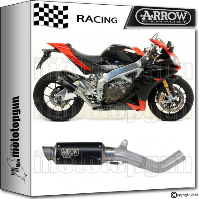 ARROW KIT EXHAUST GP2 STAINLESS STEEL DARK RACE APRILIA RSV-4 FACTORY 2012 12