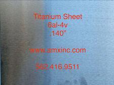 Titanium Sheet 6al 4v 140 X 12 X 12