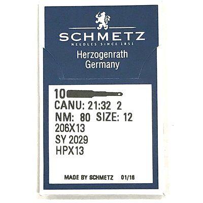 Lot de 10 Schmetz 206X13 HPX13 Taille 14 Plat Tige aiguilles pour Singer 206 306 319