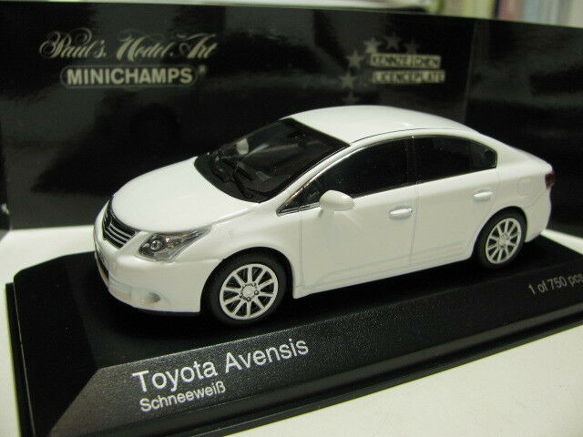 1 43 Minichamps Toyota Avensis 2009 Diecast