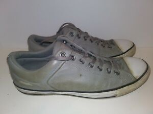 b46dba72cf3a3d Converse Chuck Taylor All Star Ox Leather Sneaker Gray Grey Men 11 ...