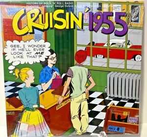 Cruisin' 1955, ORIGINAL Vinyl LP Various Artists BRAND NEW, FACTORY SEALED!!