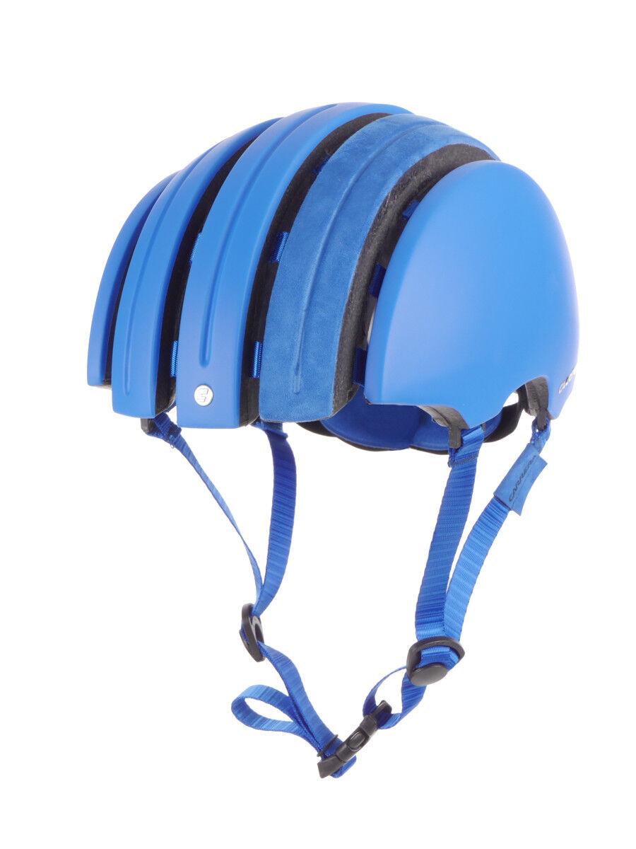 Carrera Casco Bicicleta Casco Azul Foldable Suede Extensible