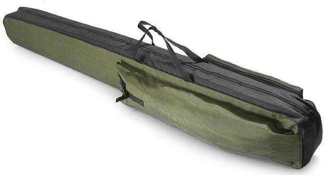 Details about  /FISHING ROD HOLDALL BAG 1 POCKET 100-150cm for made up rods /& reels GREEN UK