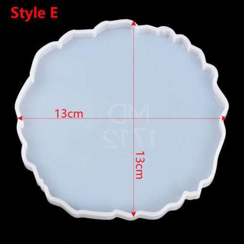 Making Mould Resin Casting Molds Epoxy Silicone Irregular Wave Coaster Mold