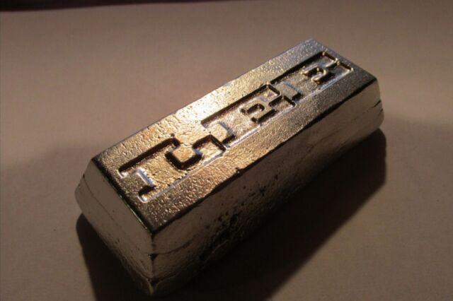 one quarter pound Britannia Metal Jewelry Grade Ingot Metal Casting Pewter