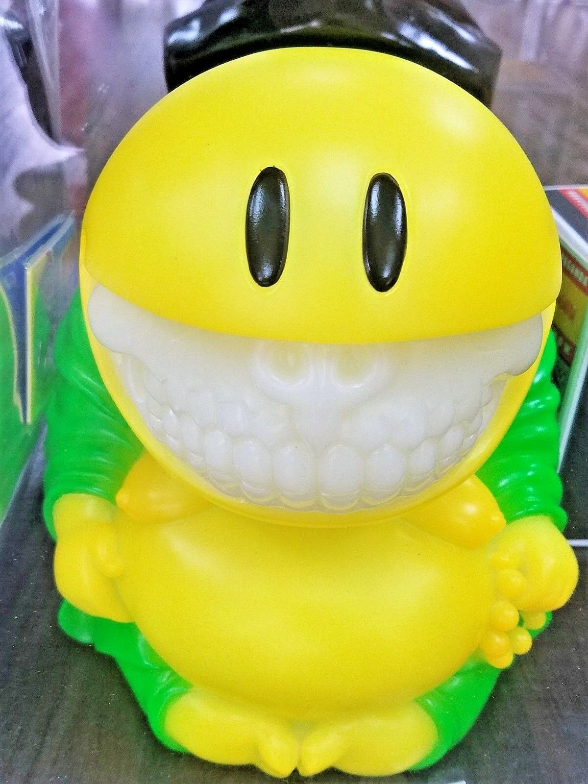 Ron inglese inglese inglese Collectormates Mad Happy Monk verde Grin Exclusive Statue Mindstyle 11a022