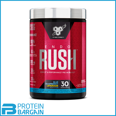 Fein Bsn Endo Rush Pre-workout 30 Servings 495g Pre-workout And Training Gute QualitäT