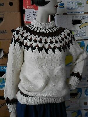 Vendita Calda Grob A Maglia-maglione S/m Boho Lana True Vintage Cozy Knit Sweater-lover S/m Boho Wollpullover True Vintage Cozy Knit Sweater It-it Mostra Il Titolo Originale Da Processo Scientifico