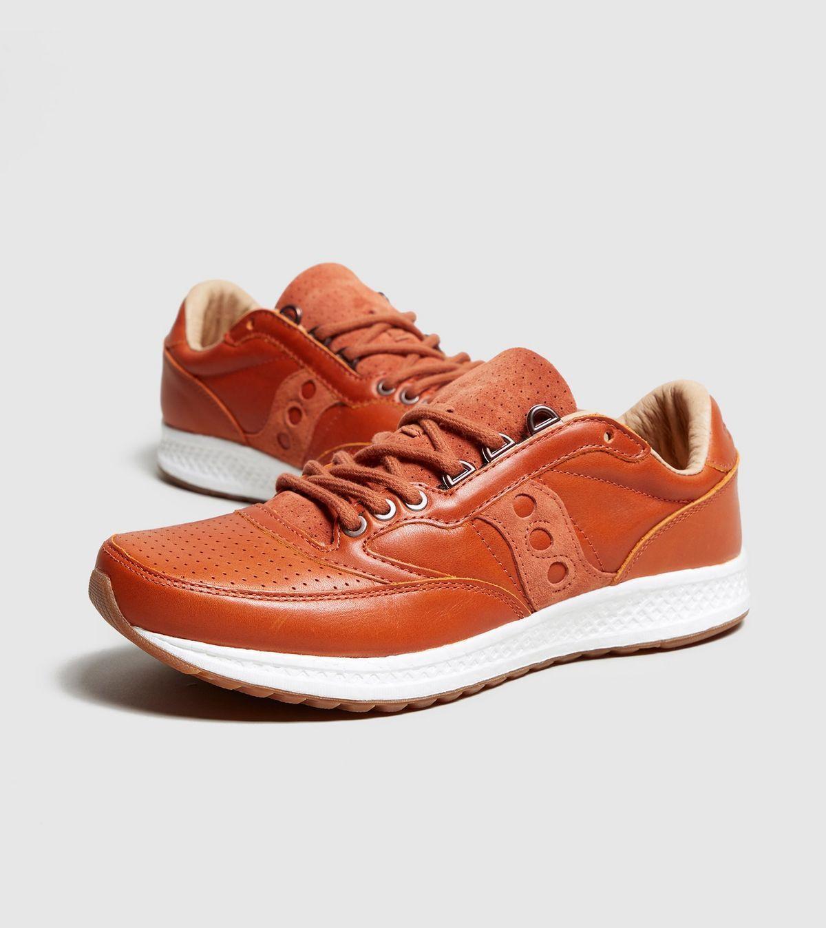 Saucony señores Freedom Runner zapatillas marrón