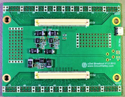 microZed GPIO Carrier Breakout Board For Avnet microZed Zynq SoC SOM FPGA board