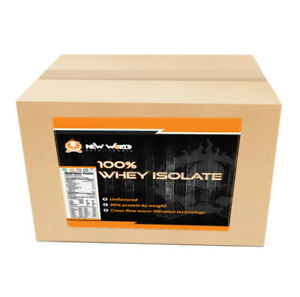 New World Nutritionals Whey Isolate and Cluster Dextrin Weight Gainer