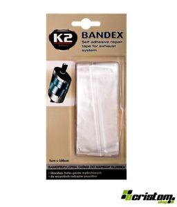 K2-bandex-Autoadesivo-DI-SCARICO-MARMITTA-Benda-Riparazione-Nastro-Resistente-Al-Calore-100cm