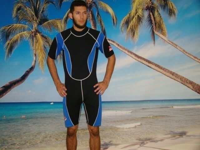 Wetsuit 3MM  Shorty up to XL Plus Size Dive Gear Stretch Series 9804XS  enjoy saving 30-50% off