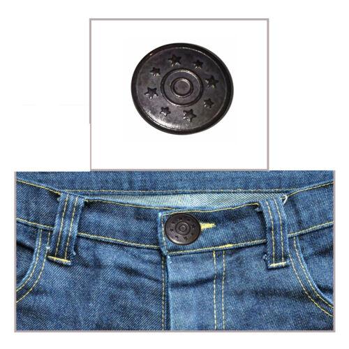 17mm Jeans Botones con Clavijas Martillo sobre Chaqueta Vaquera Hazlo tú mismo y abrigos Pantalones Camisas