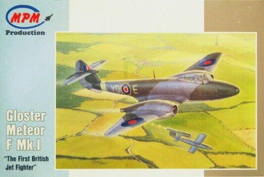 Mpm 1/72 Gloster Meteor F Mk.i #72567