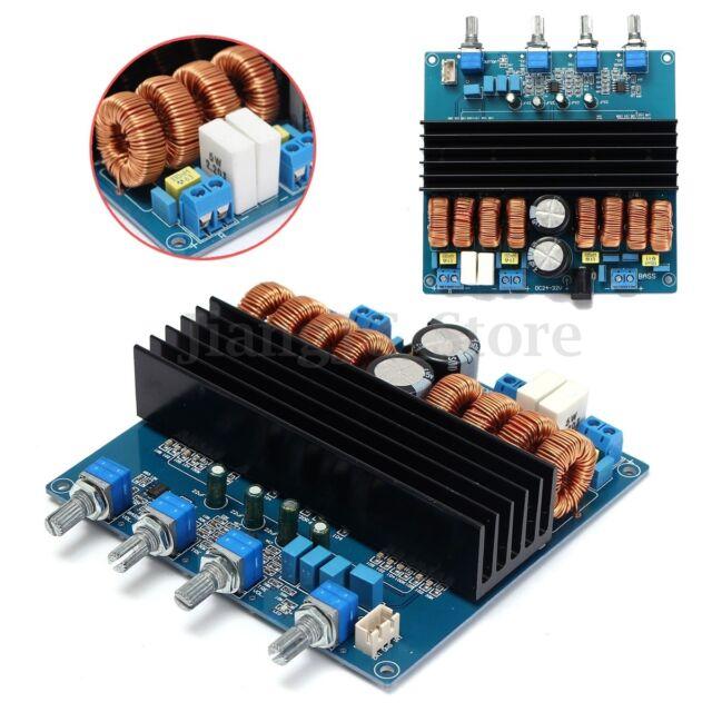 TDA7498 + TL072 Class D 2.1 Digital Power Amplifier Board 200W+2X100W DC24V~32V