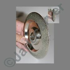 """Diamond """"V"""" Grinding Wheel, 6""""x1""""; 220, 400 or 600 grit"""