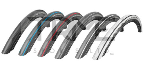 SCHWALBE DURANO 700x23c//25c//28c Road Tyres HS464 23//25//28-622 Various Colours