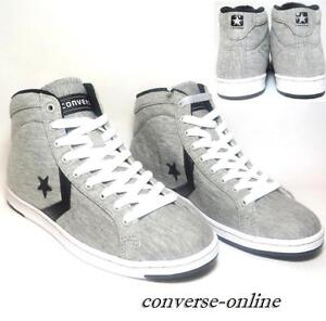 7370376a1515 Women s CONVERSE All Star GREY LADY PRO HIGH TOP Trainers Boots SIZE ...