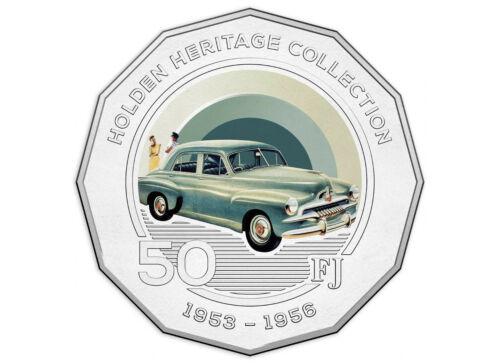 2016 50c Holden 1953-56 FJ Coloured UNC Coin
