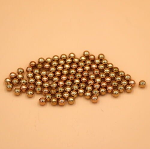 H62 High Precision 8mm 10PCS Solid Brass Bearing Balls
