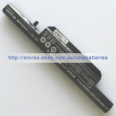 Genuine W540BAT-6 battery 6-87-W540S-4W41 for CLEVO W550SU W550EU W550TU  W551SU1 | eBay