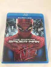 The Amazing Spider-Man Blu-ray/DVD, 2012, 3-Disc Set FREE FAST SHIPPING!
