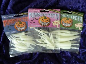 3-Pack-Glow-In-The-Dark-Large-Medium-Small-Pumpkin-Teeth-Plastic-Fang-Teeth-GID